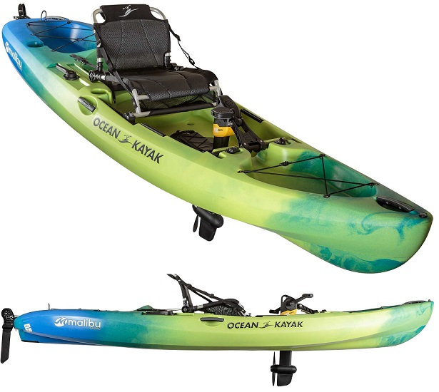 Ocean Kayak Malibu Pedal Drive Sit-On-Top Kayak
