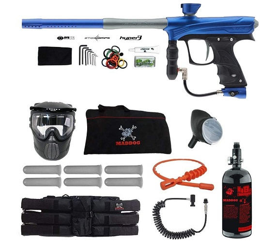 Proto Rize MaXXed Corporal HPA Paintball Gun Package