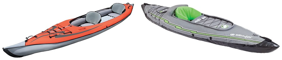 Solo vs Tandem Inflatable Kayak