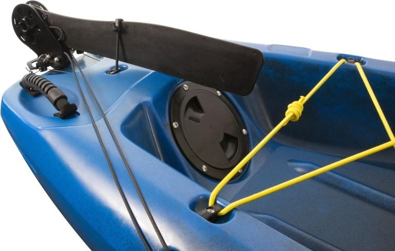 pedal powered kayak with rudder