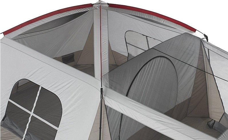Family Tent Ventilation