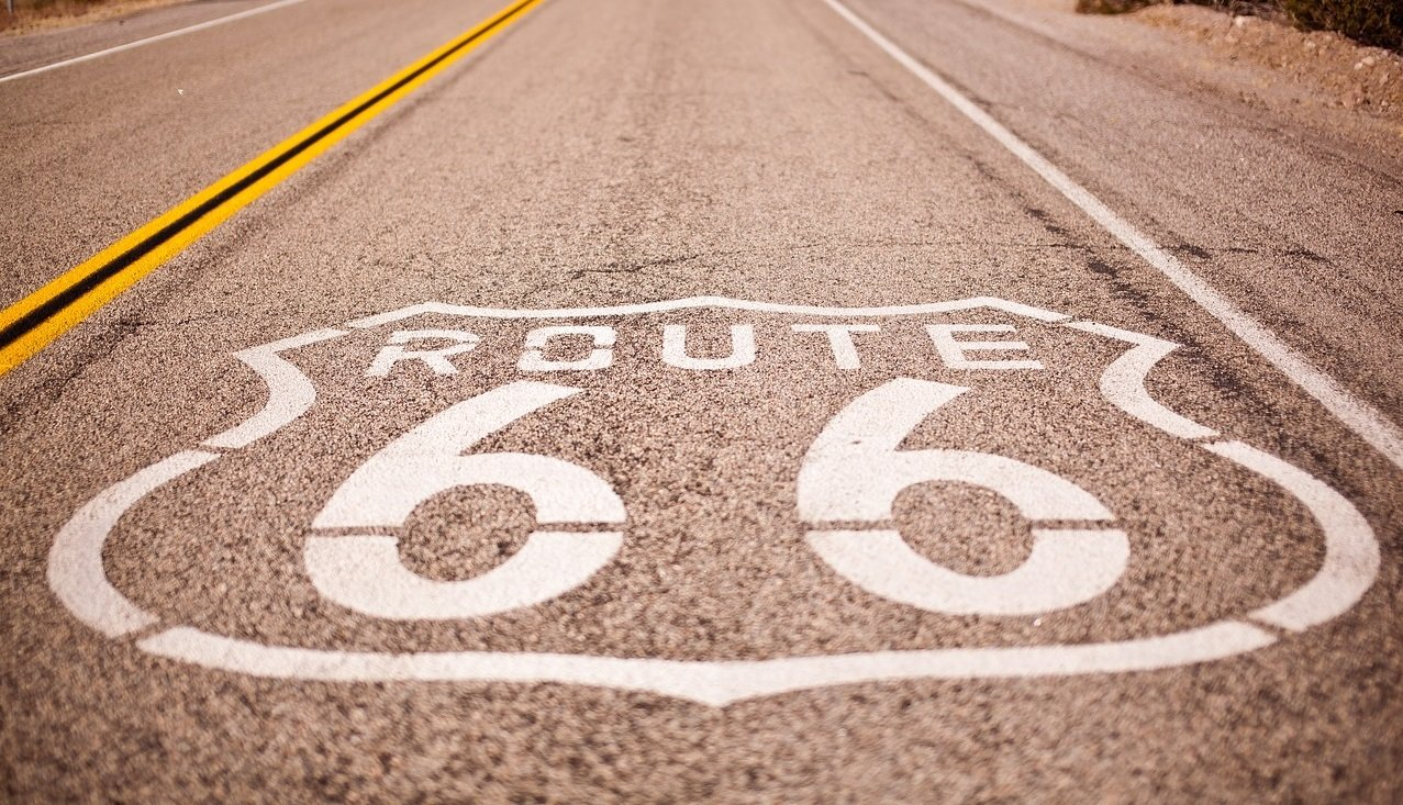 biking route 66 arizon