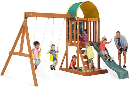 Big Backyard Swing Set