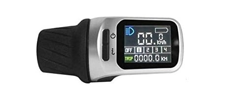 Electric bike controller with voltage watts digital display readout