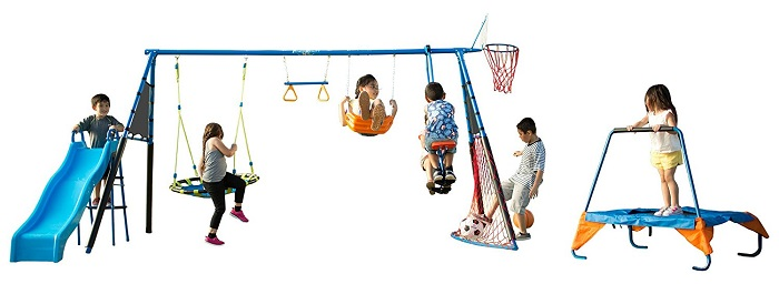 Fitness Reality Kids – The Ultimate Swing Set