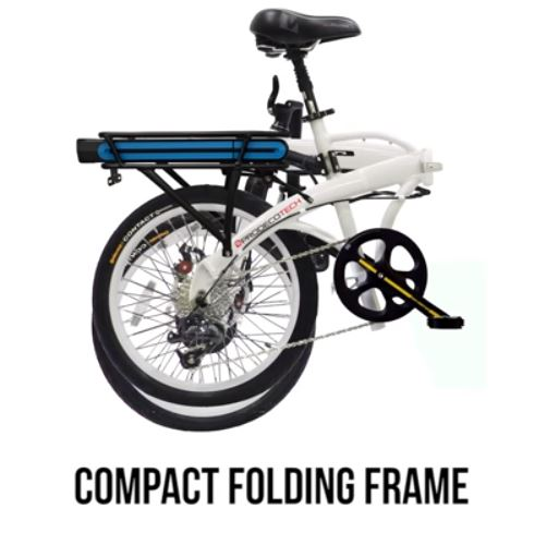 ProdecoTech-Mariner-Electric-Bicycle Folded