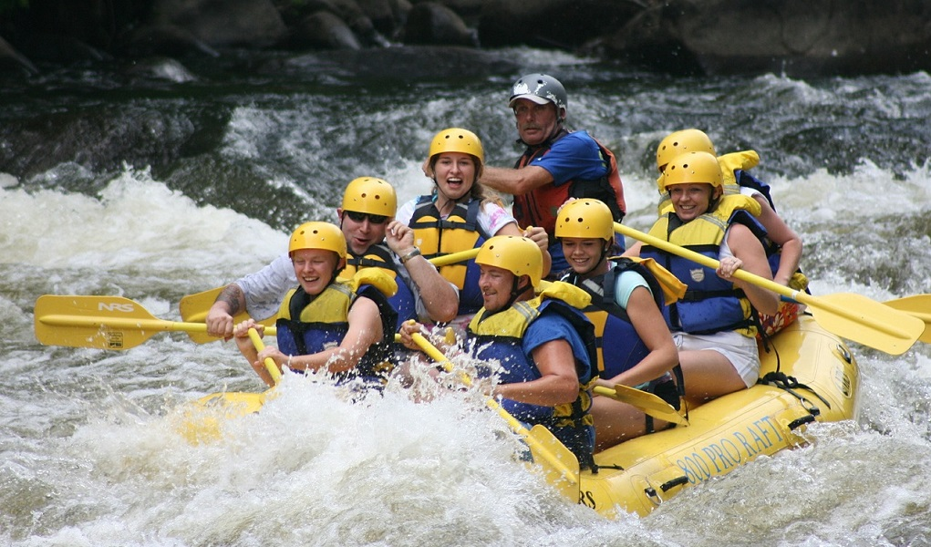 Try River Water Rafting
