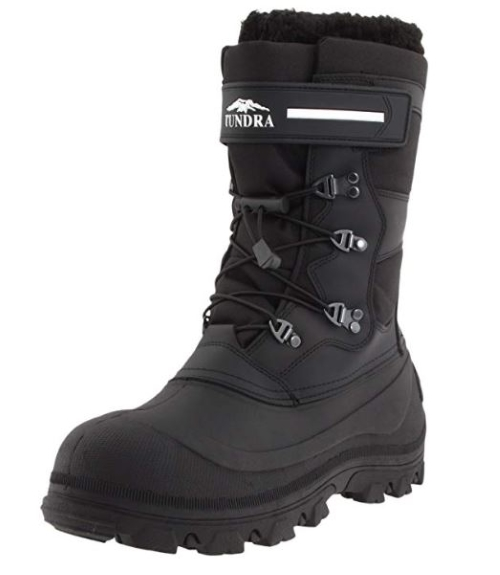 Tundra-Mens-Toronto-winter Boot-Black waterproof image