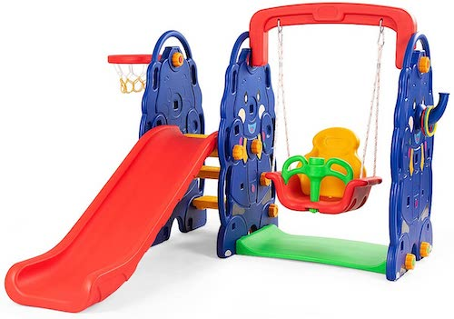Costzon Swing Set