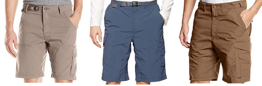 hiking shorts belts