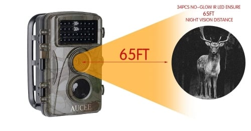 AUCEE-Infrared-Wildlife-Waterproof-game trail cam