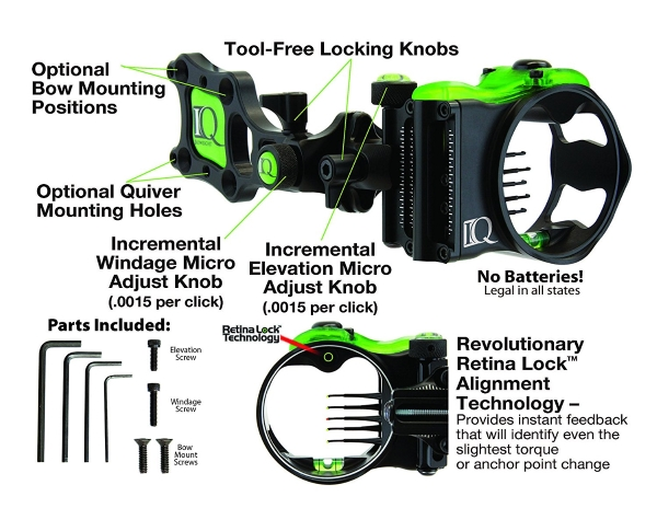 Field-Logic-IQ00323-Bowsights-Technology bow sight specifications