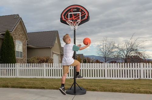 Lifetime-90022-Adjustable-Portable-Basketball youth net hoop rim driveway