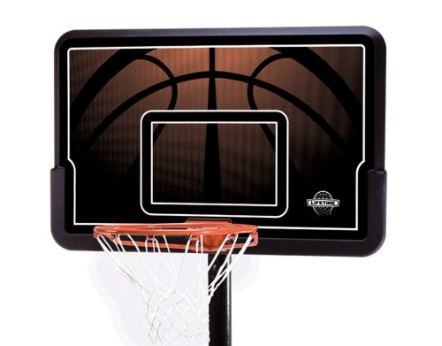 Lifetime-90040-Adjustable-portable Basketball rim Backboard