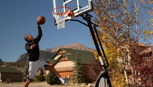 Spalding-Portable-Angled-Backboard-Basketball jump shot