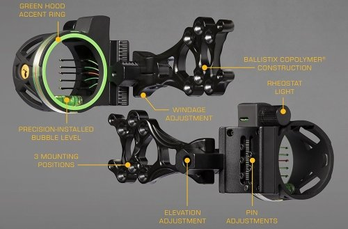 Trophy-Ridge-Volt-Pin-Sight6 best hunting bow sight specifications