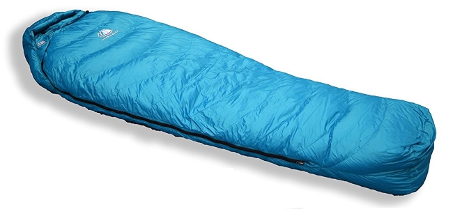 outdoor cold weather sleeping bags materials