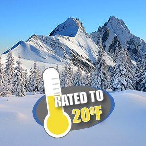 winter sleeping bag temperature rating