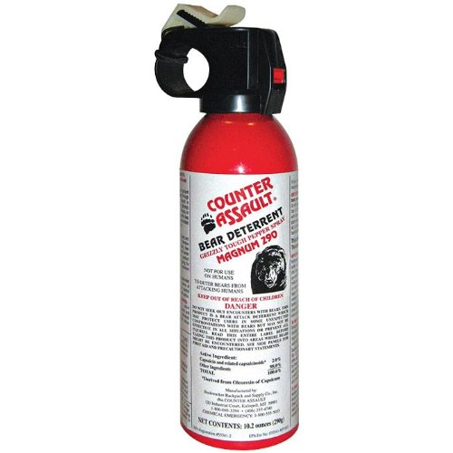 Bear Protection With Frontiersman Bear Spray: The 5 Best Bear Sprays Reviewed For 2019