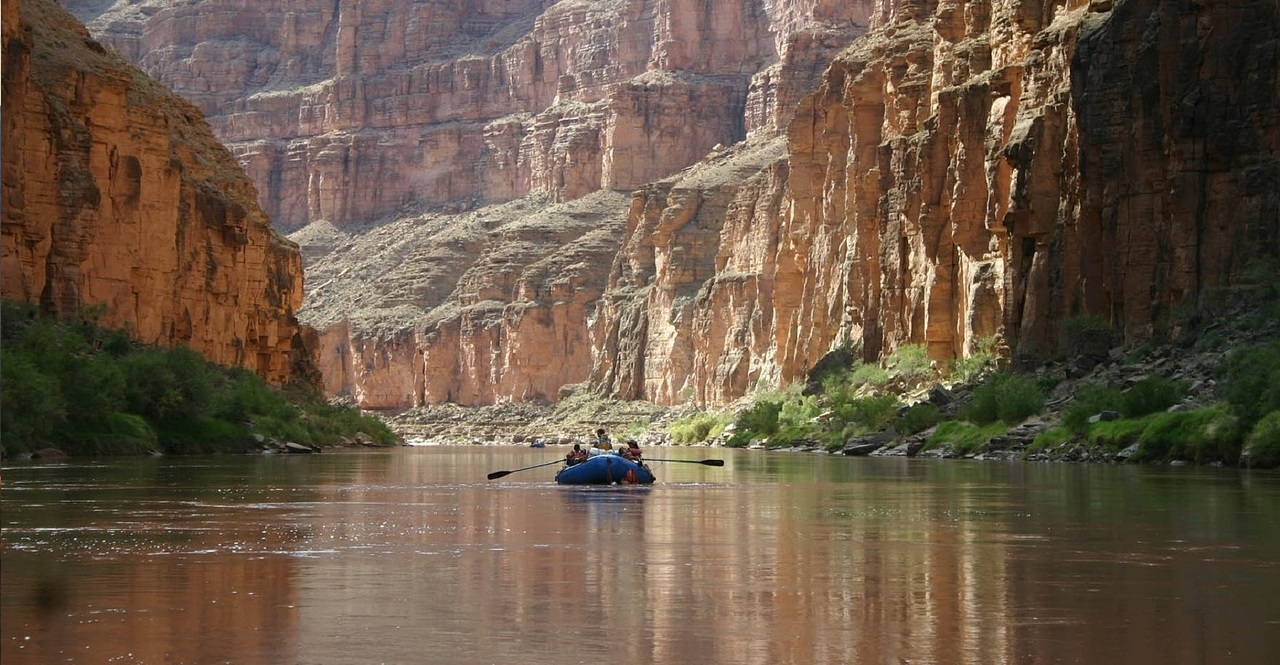 Boating in the Grand Canyon