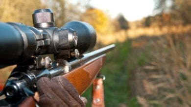 hunting rifle scope image