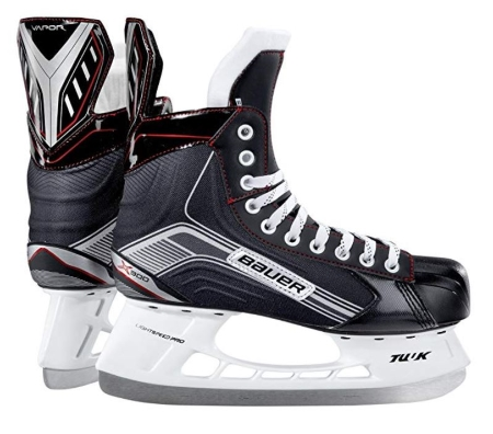 Bauer-Supreme-Junior-Hockey-Skates Silver