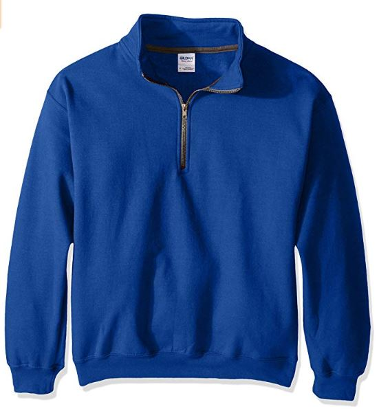 cotton polyester blend fleece sweatshirt
