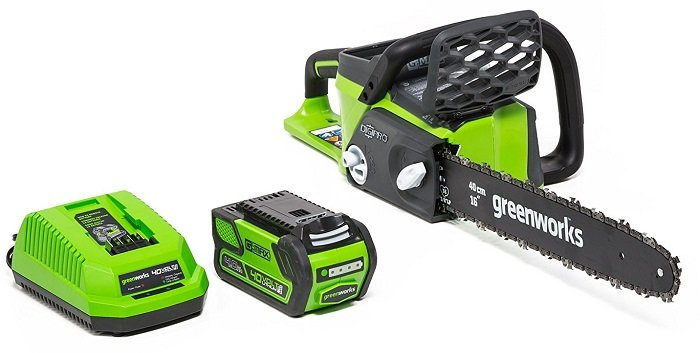 Greenworks Cordless Battery Chainsaw