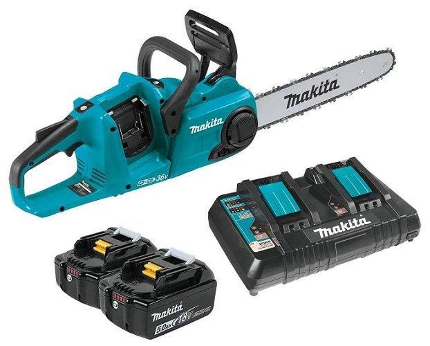 Makita XCU03PT Cordless Chain Saw Kit