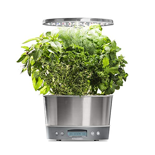 Led Kitchen Garden Year Around Counter Top Culinary Herb: Top 10 Best Hydroponic And AeroGarden Systems Reviews