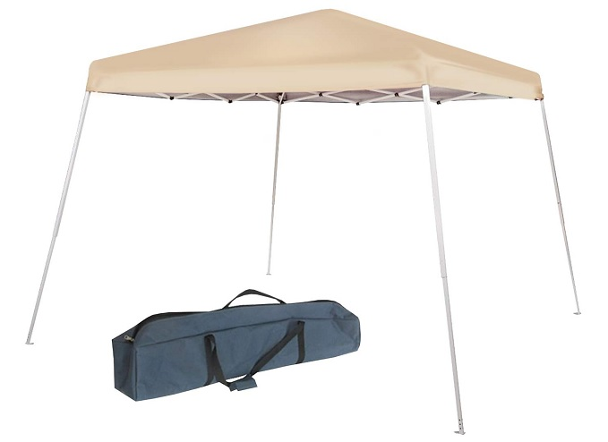 Abba Patio Slant Leg Instant Pop Folding Canopy