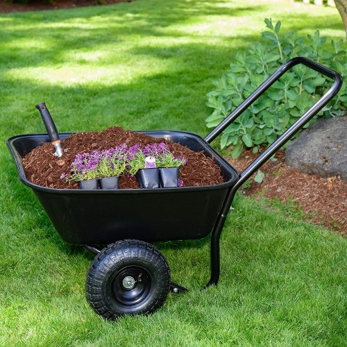 Garden-70019-Barrow-Dual-Wheel-Wheelbarrow review