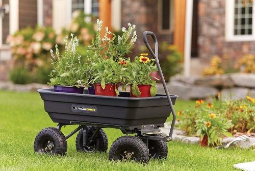 Gorilla-Carts-GOR4PS-Pneumatic-600-Pound review