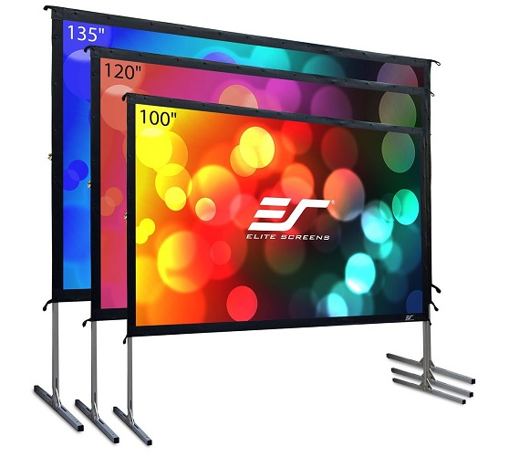 Elite Screens Yard Master 2 Outdoor Projector Screen