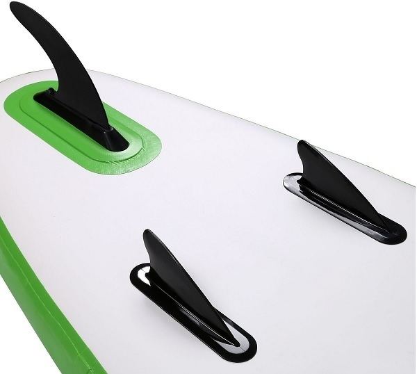Fin design for all around paddle boards.