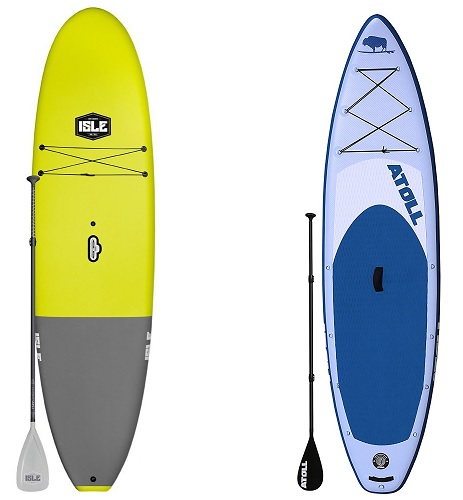 Inflatable SUP vs Rigid SUP