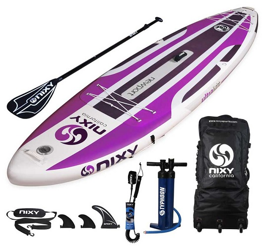 NIXY Newport SUP Inflatable All Around Paddle Board
