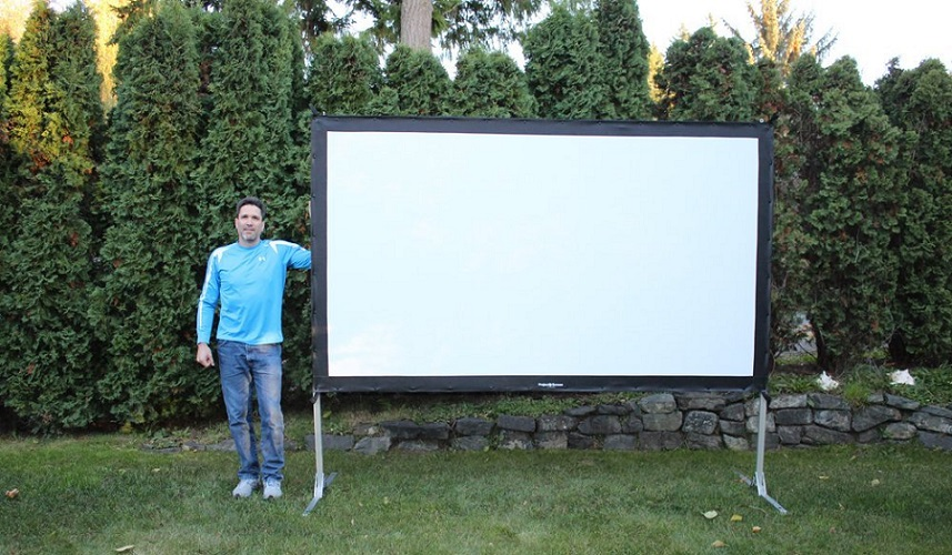 best portable projection screen