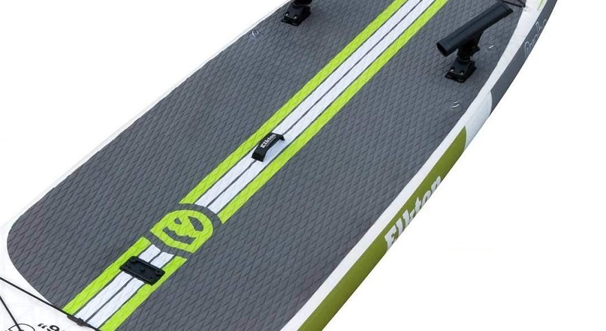 deck padding on inflatable fishing sup