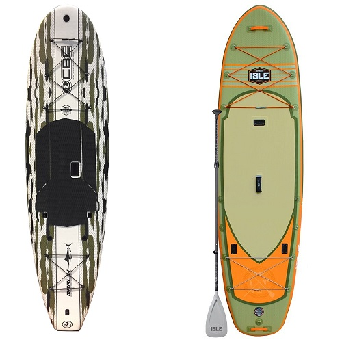 inflatable fishing sup vs rigid epoxy sup
