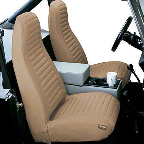 Bestop-Wrangler jeep seat cover body tan 500
