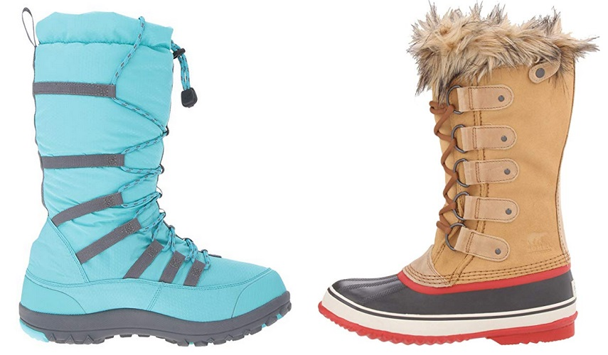 Winter Boot Uppers - Synthetic vs Leather