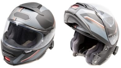 best modular motorcycle helmet feature