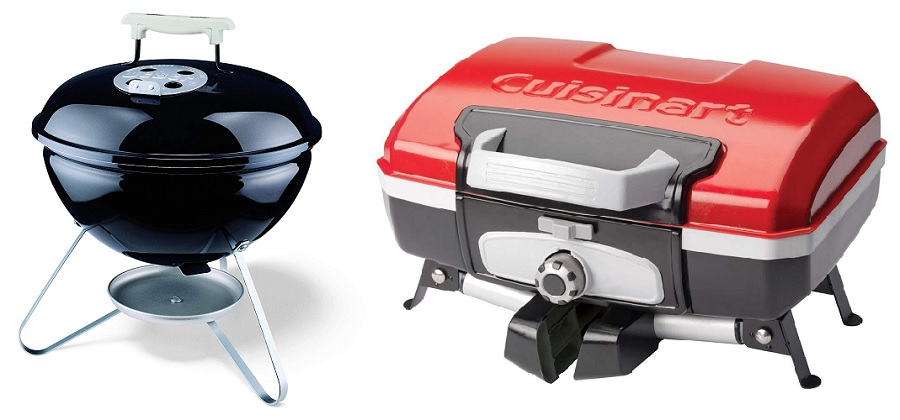 charcoal vs propane camping grill