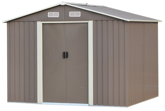 Wonlink Outdoor Steel Garden Storage Utility Shed