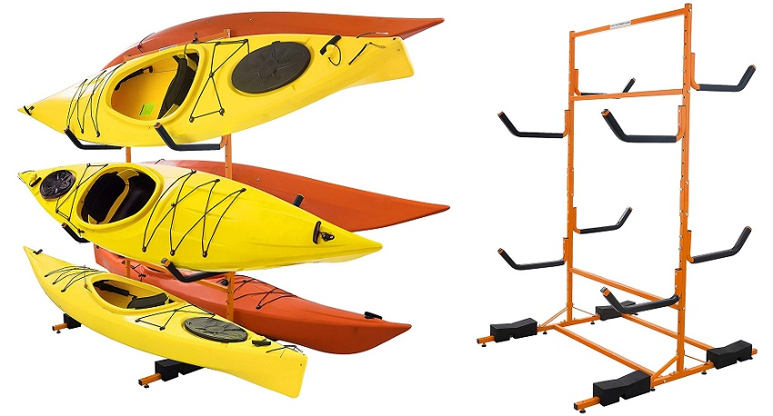best free standing kayak rack