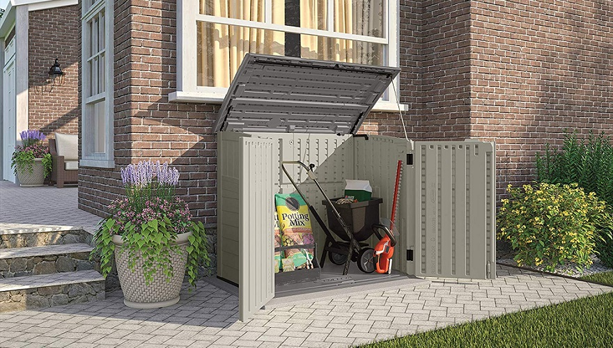 best plastic storage sheds