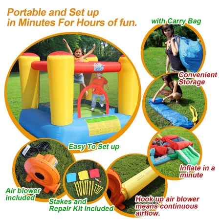 ACTION-AIR-Inflatable-Outdoor-Material bounce house reviews