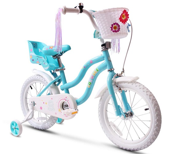 COEWSKE Kid's Little Princess Style Bike