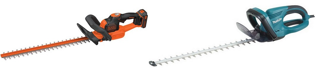 Cordless vs Electric Hedge Trimmer